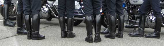 Guide to Motorcycle Police Patrol Boots