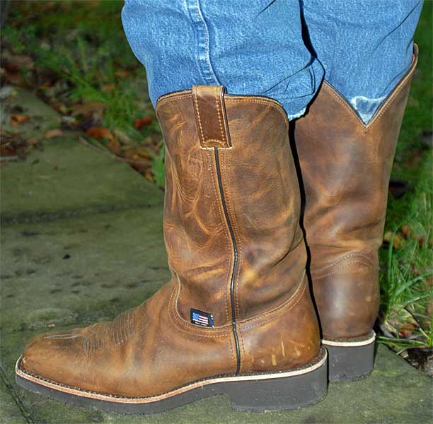 Chippewa Brown Pitstop Boots