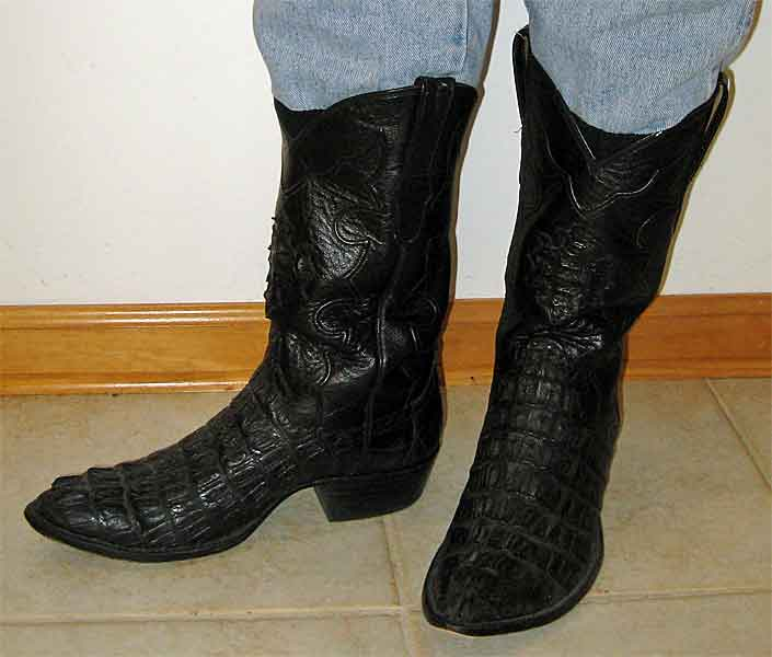 Cowtown Caiman Alligator Boots