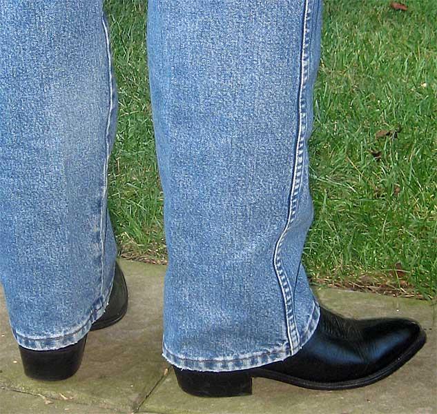Dan Post Black Dress Cowboy Boots