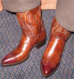 Wingtip Dress Cowboy Boots