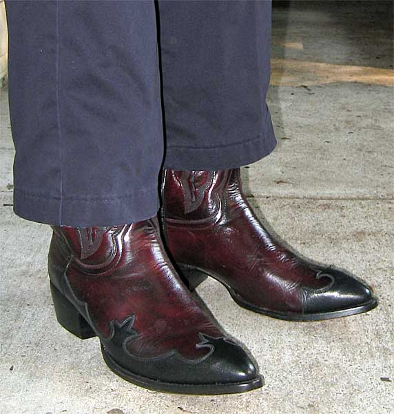 Dan Post Wingtip Boots
