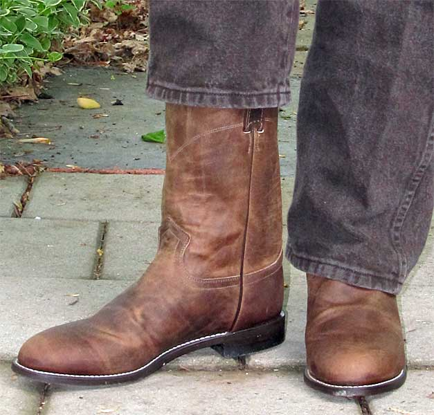 Justin Bay Apache Roper Boots