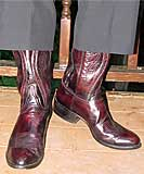 Black Cherry Dress Boots