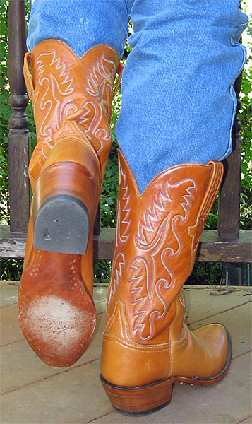 Lucchese Classic Brown Cowboy Boots