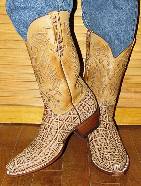 Lucchese Elephant Cowboy Boots