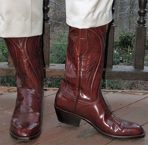 Lucchese Classic Goatskin Cowboy Boots