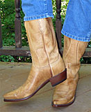 Lucchese Saddle Cowboy Boots