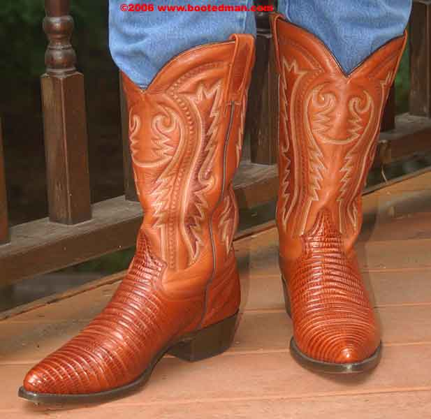 Mezcalero Brown Cowboy Boots