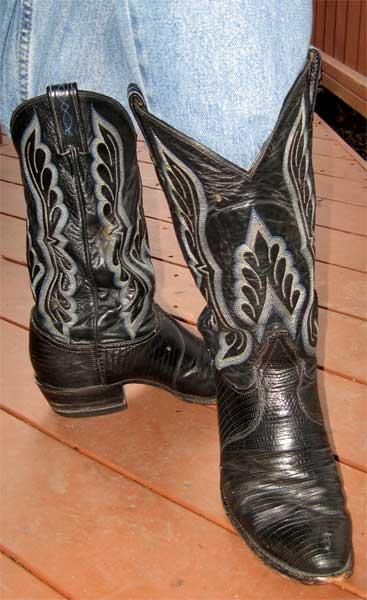 Tony Lama Teju Lizard Boots