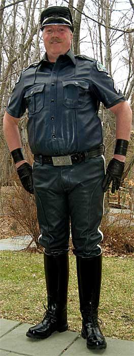 Lapd Leather Uniform