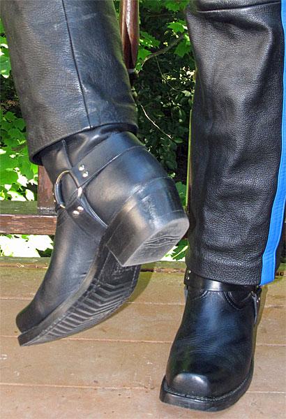 Boulet Black Harness Boots