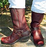 Boulet Dark Brown Harness Boots