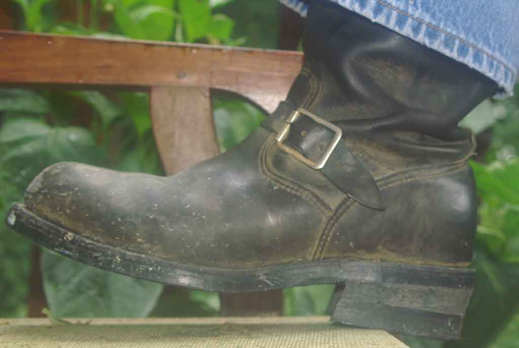 Chippewa Oil Tanned Engineer Boots