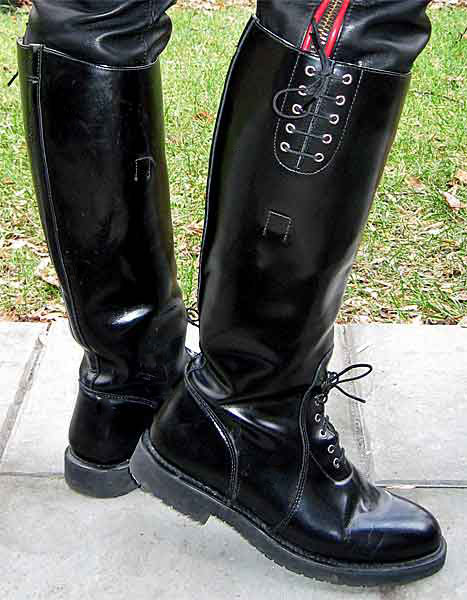 Harley davidson police enforcer boots 2 Police motor boots