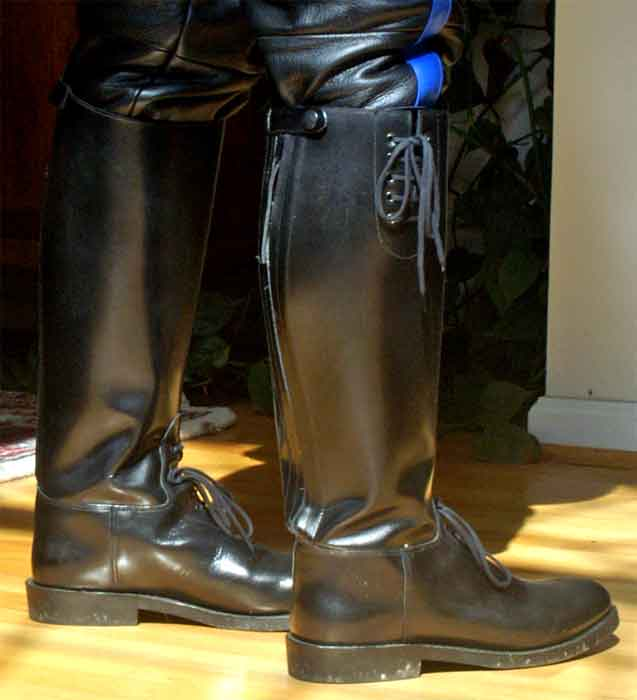 Intapol motorcycle police boots Police motor boots