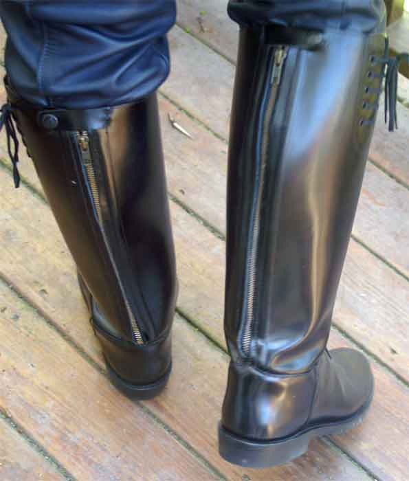 Intapol Motorcycle Police Boots