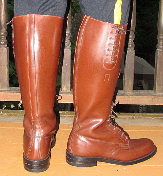 RCMP Strathcona Hi-Brown Boots