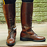 RCMP Strathcona High-Brown Boots