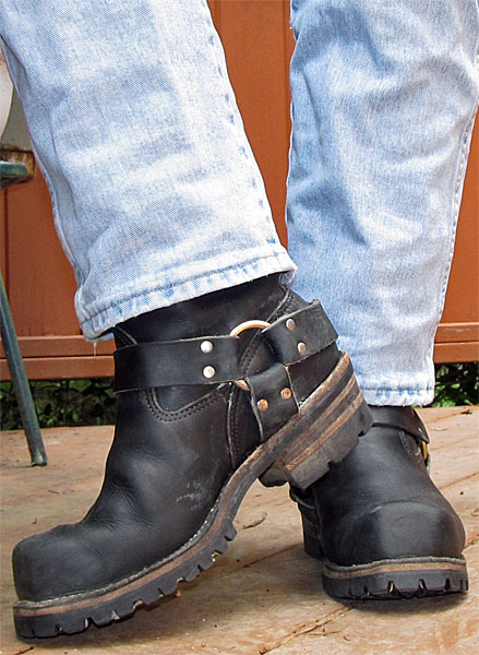 Wesco Unlined Tall Harness Boots