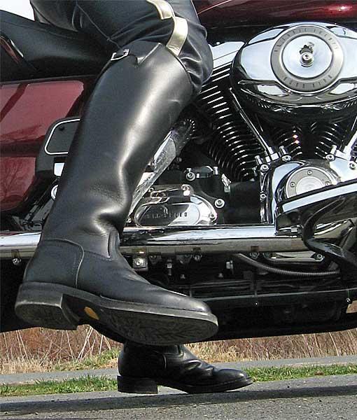 Wesco Motor Patrol Boots
