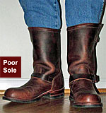 Wolverine brown 1000 mile engineer boots