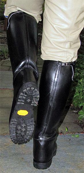 Stock Dress Instep Lug Soled Dehner Boots