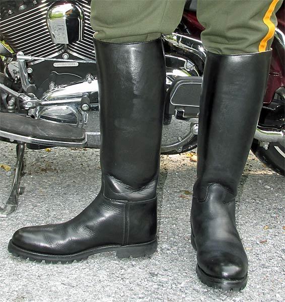 2014 Stock Dress Instep Lug Soled Dehner Boots
