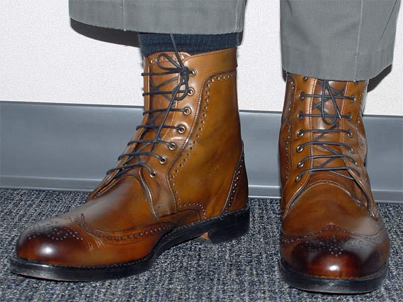 Allen Edmonds Dalton Bourbon Boots