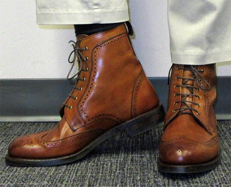 810796fe9c1 Allen Edmonds Dalton Walnut Boots