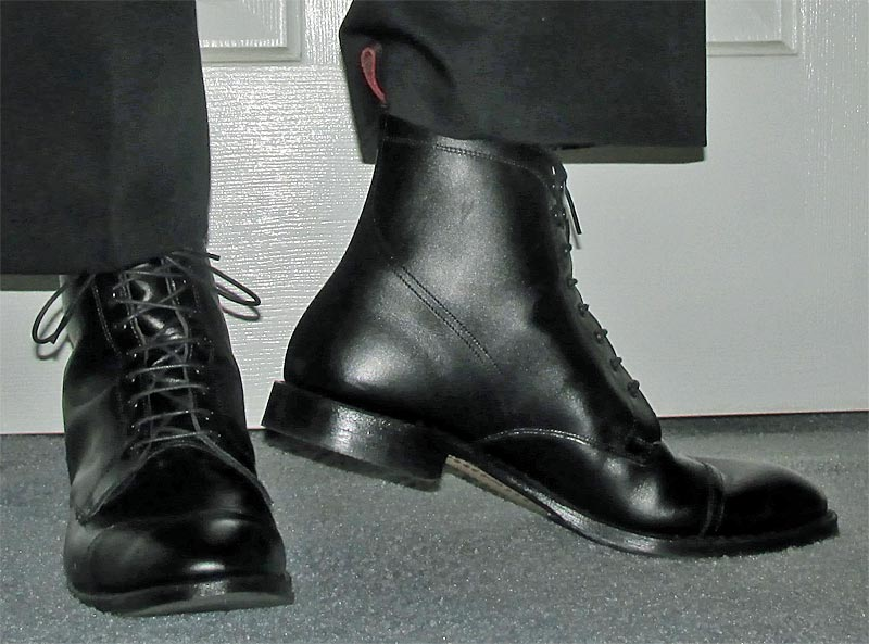 Allen Edmonds Black First Avenue Boots