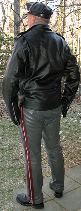 Traditional Biker Jacket
