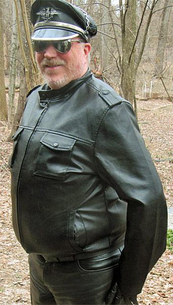 Dixon Leather Chopper Jacket