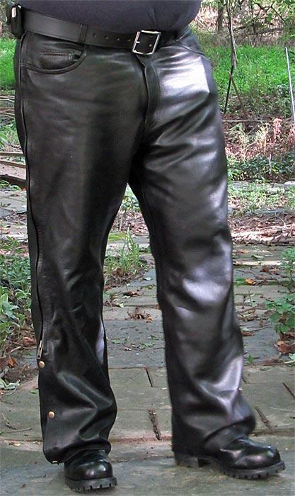 Fox Creek Leather Overpants