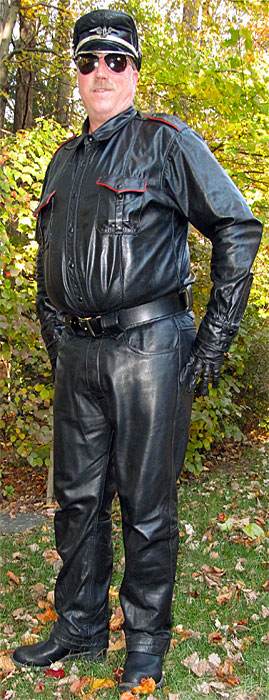 Leather Riding Pants