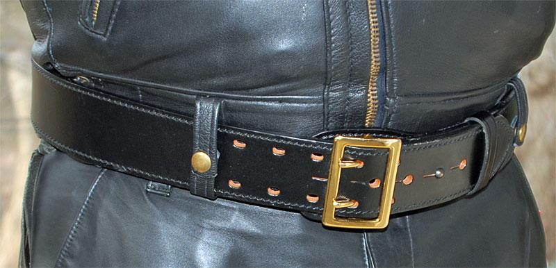 Belted Langlitz Columbia Jacket