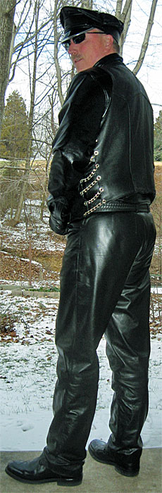 leather Toronto clothing bondage fetish