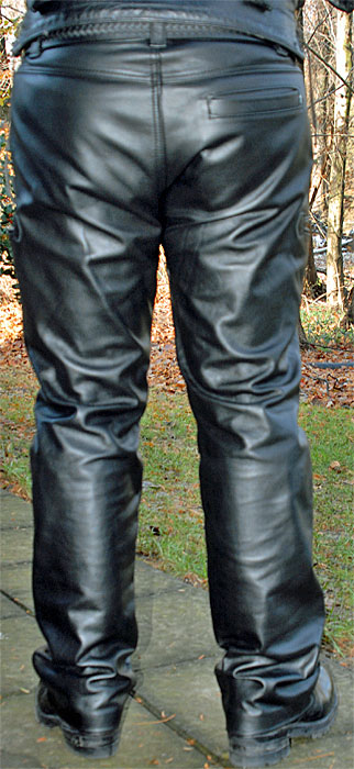 Carpenter Leather Jeans By Mr S Biker