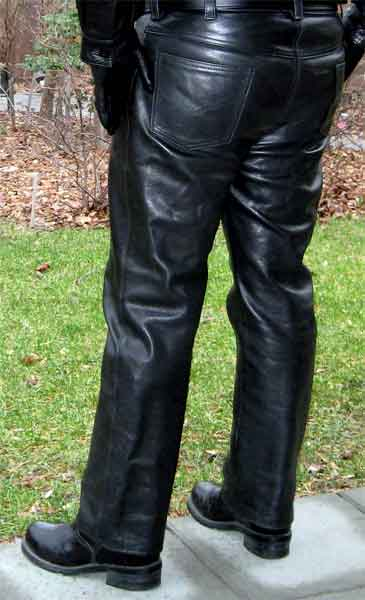 Naked Leather Pants
