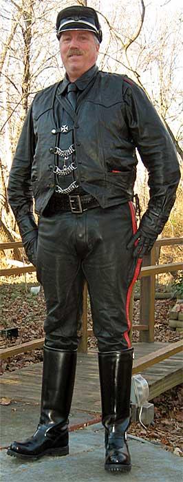 Harleydavidson oem plain black leather vest