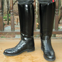 Dress Instep Dehner Boots and leather