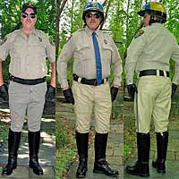 Dehner Boots and uniform