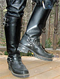 Tall Wesco Harness Boots