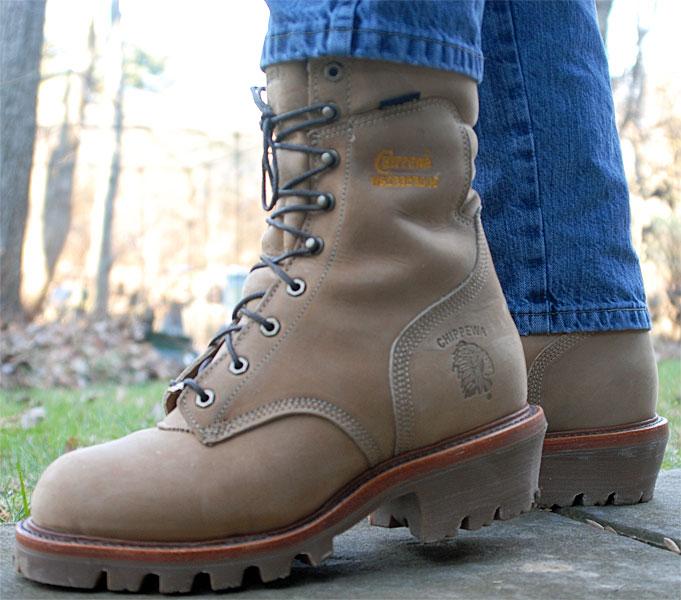 Chippewa Bay Apache Logger Boots